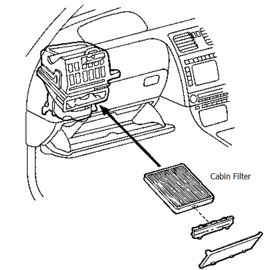 Proton Preve 831 Cabin Filter