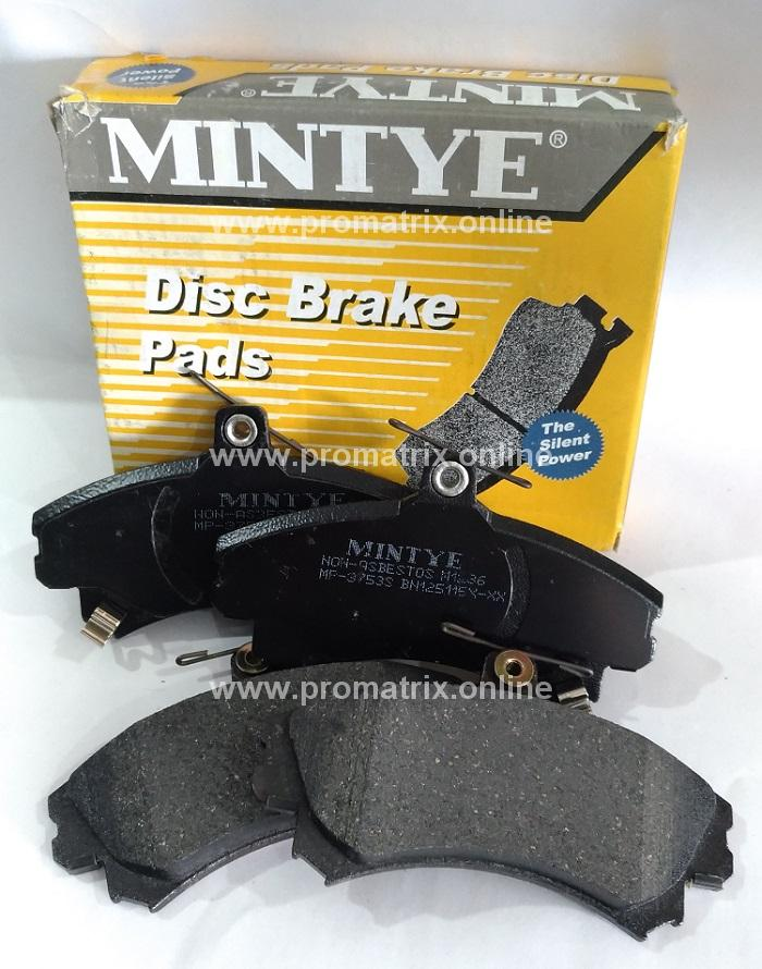 TOYOTA CAMRY 2 0 ACV41, 2 4 AVC40 (MP-3653) MINTYE Brake Pad (Rear